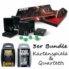 Star Wars Spielkarten Collector's Set Karten + Top Trumps Quartett I-III + IV-VI