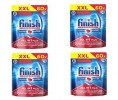 4er-Pack Finish Spülmaschinentabs Finish All-in-1 Plus [0,12€*/Stck]